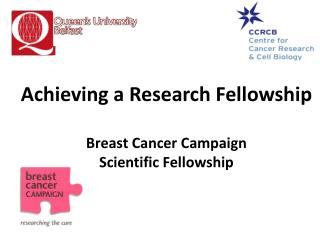 Achieving a Research Fellowship Breast Cancer Campaign  Scientific Fellowship