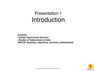 Presentation 1 Introduction