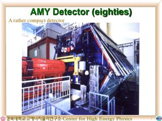 AMY Detector (eighties)