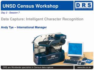 UNSD Census Workshop