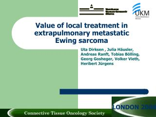 Value of local treatment in extrapulmonary metastatic Ewing sarcoma