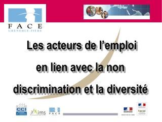 Les acteurs de l'emploi  en lien avec la non  discrimination et la diversité