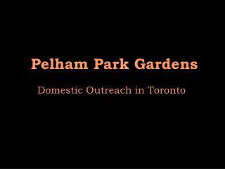 Pelham Park Gardens