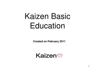 Kaizen Basic Education