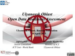 Ulyanovsk Oblast Open Data Readiness Assessment
