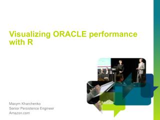 Visualizing ORACLE performance with R