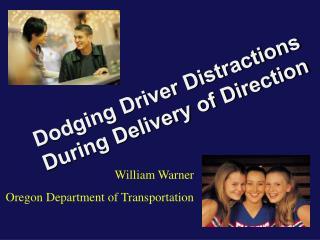 William Warner Oregon Department of Transportation