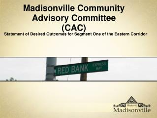 Madisonville Community Advisory Committee (CAC)
