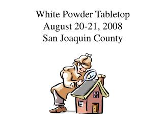White Powder Tabletop