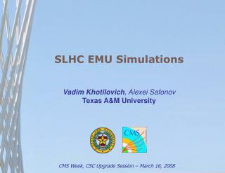 SLHC EMU Simulations