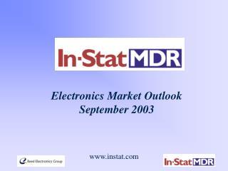 Electronics Market Outlook September 2003