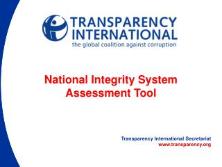 Transparency International Secretariat transparency