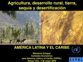AMÉRICA LATINA Y EL CARIBE Marianne Schaper Comisión Económica