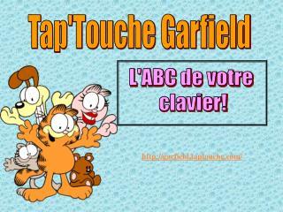 Tap'Touche Garfield