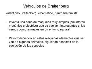 Vehículos de Braitenberg