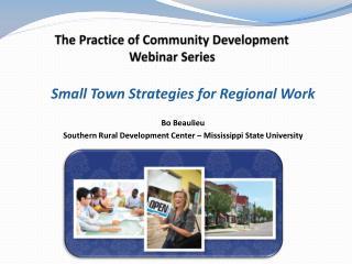 The  Practice of Community  Development Webinar Series