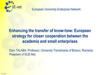 European University-Enterprise Network
