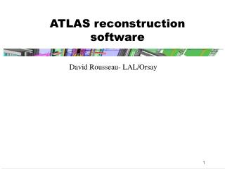 ATLAS reconstruction software