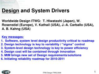 Software, system level design productivity critical to roadmap