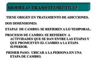 MODELO TRANSTEORÉTICO