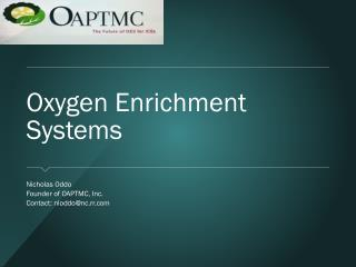 Oxygen Enrichment Systems