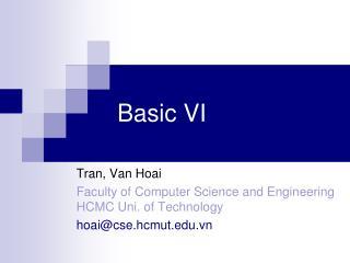 Basic VI