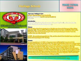 Heritage Schools