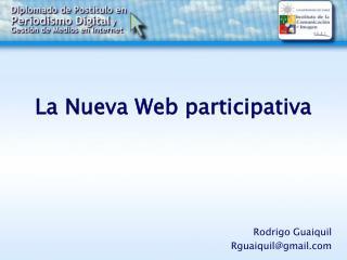 La Nueva Web participativa