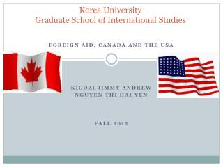 Korea University Graduate School of International Studies