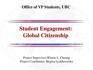 Office of VP Students, UBC