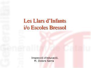 Les Llars d Infants  i