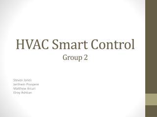 HVAC Smart Control Group 2