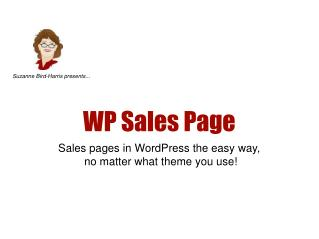 WP Sales Page
