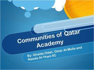 Communities of Qatar Academy