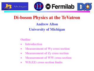 Di-boson Physics at the TeVatron