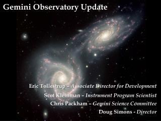 Gemini Observatory Update