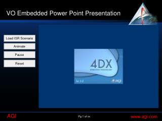 VO Embedded Power Point Presentation