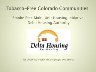 Tobacco-Free Colorado Communities