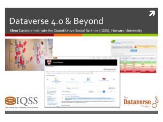 Dataverse 4.0 & Beyond