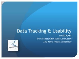 Data Tracking & Usability
