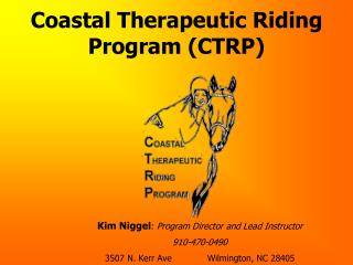 Coastal Therapeutic Riding Program CTRP