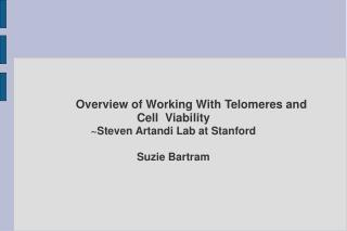 Overview of Working With Telomeres and              Cell  Viability