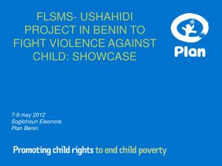 7-9 may 2012 Soglohoun Eleonore Plan Benin