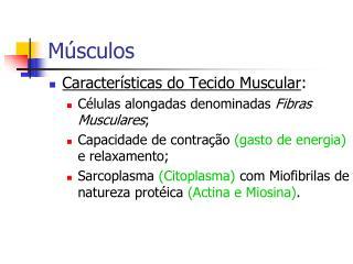 M�sculos