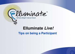 Elluminate  Live!