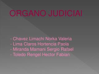 -  Chavez Limachi Norka  Valeria - Lima Claros  Hortencia  Paola - Miranda Mamani Sergio Rafael