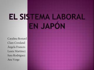 El sistema laboral  en  Japón