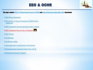 EEO & OCHR