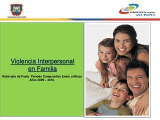 Violencia Interpersonal en Familia