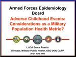 Armed Forces Epidemiology Board